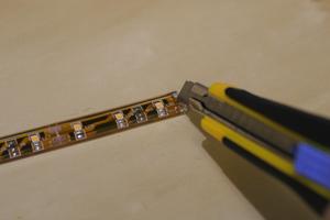 LEDテープライトの加工の方法は?